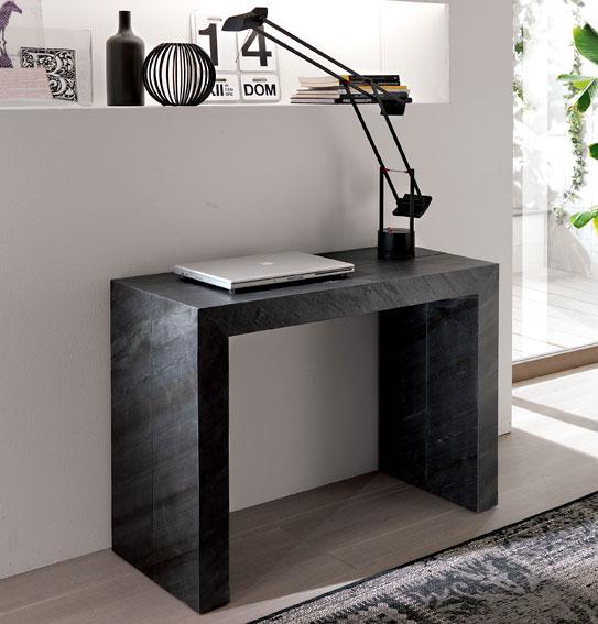 Consola mesa de comedor moderna stone en - Consolas recibidor modernas ...