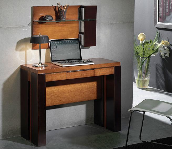 Consola mesa de comedor extensible moderna watson en for Sillas italianas modernas