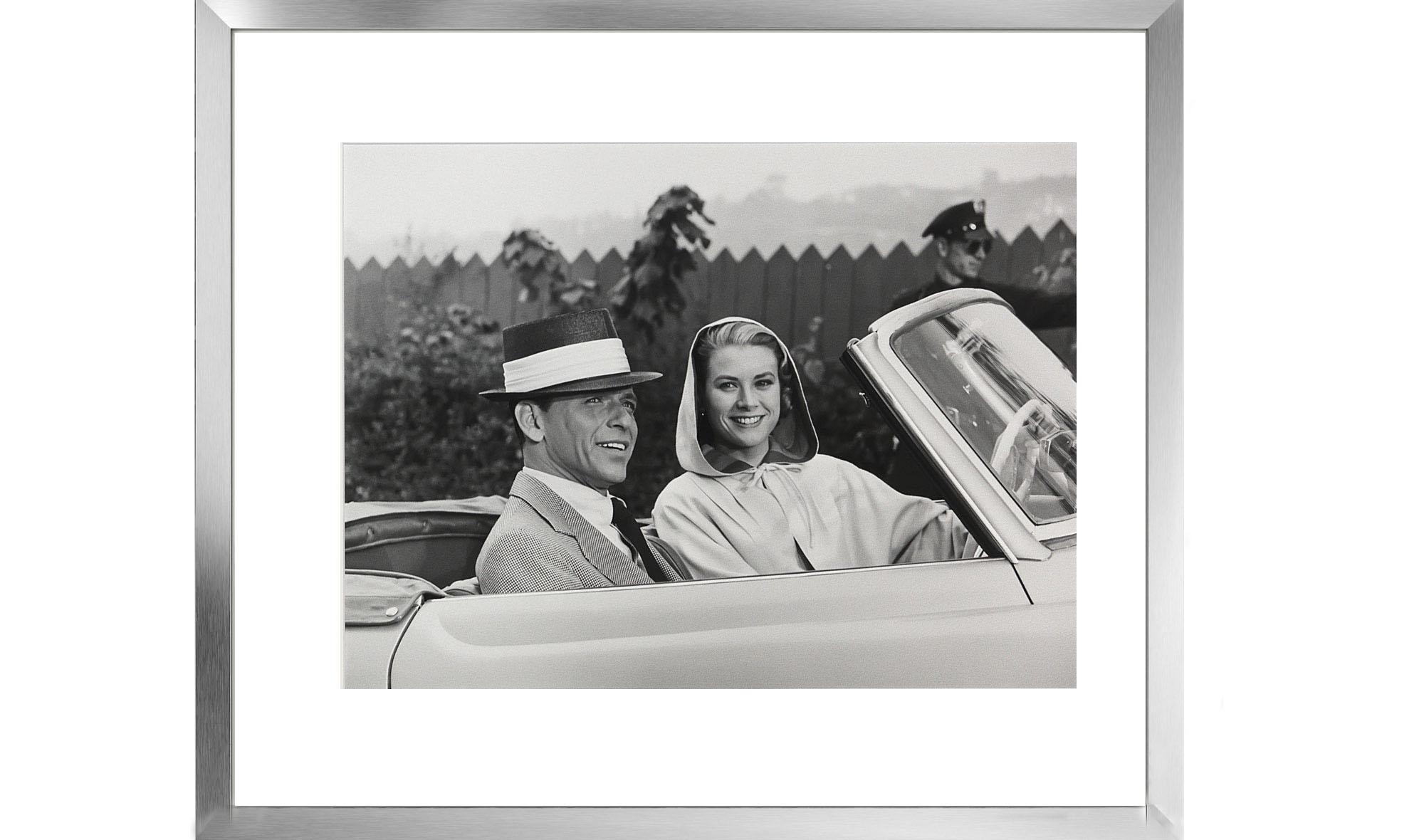 Cuadro Grace Kelly con marco en aluminio no disponible en ...