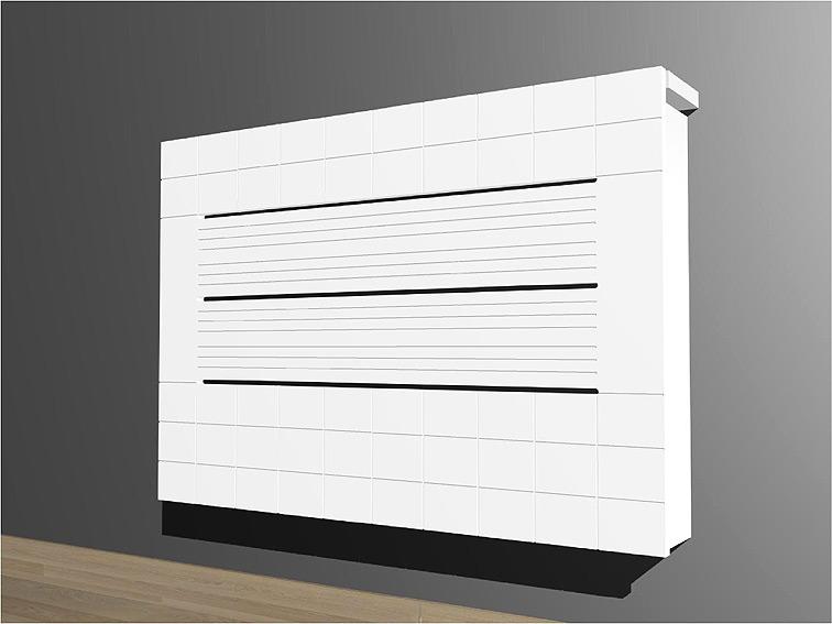 Cubre radiador moderno dise o cuadrat no disponible en - Muebles de diseno moderno ...