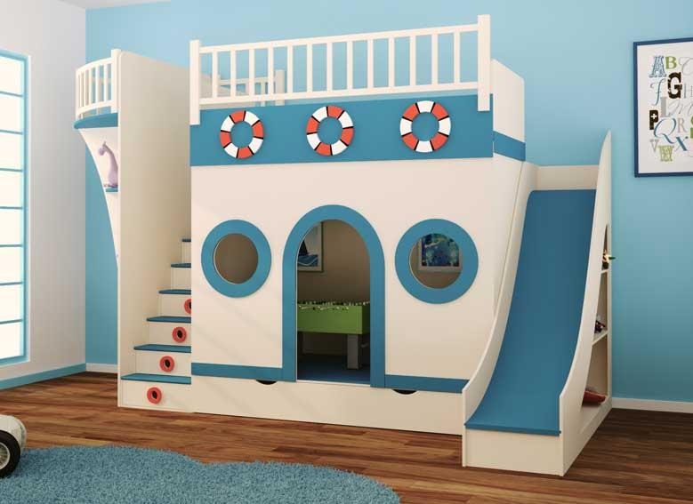 Dormitorio barco pirata ii en - Fotos camas infantiles ...