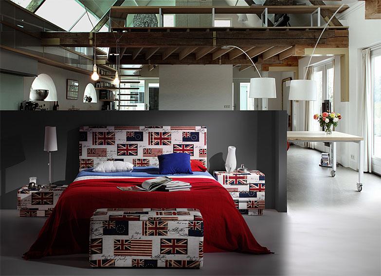 Dormitorio british flags en - Portobello street muebles ...