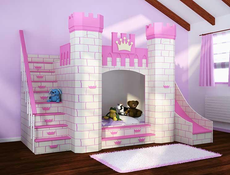 Dormitorio Castillo Princesas en Portobellostreet.es