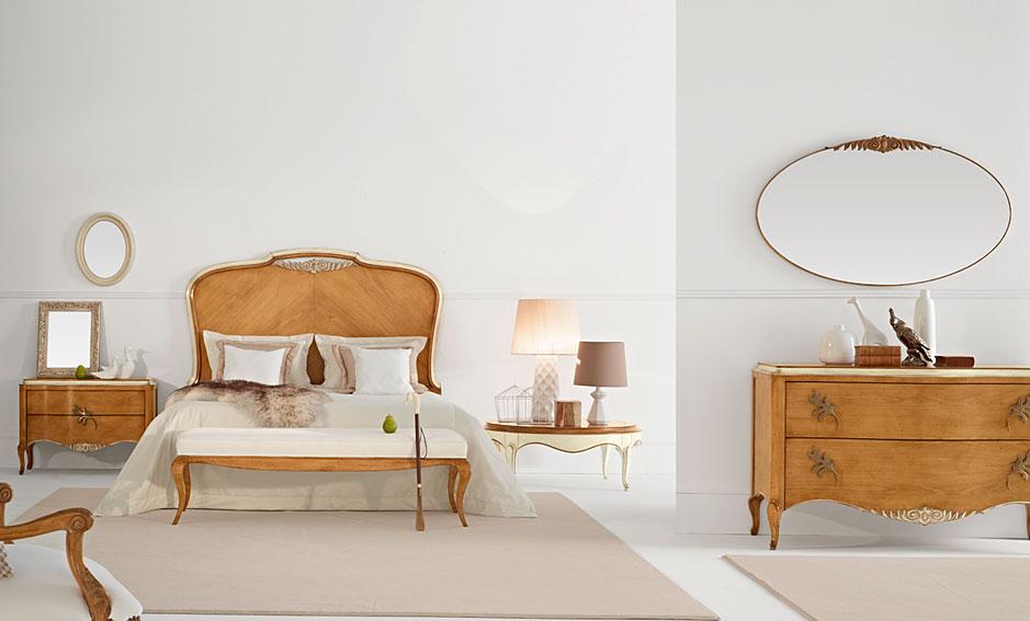 Dormitorio vintage gala en for Muebles dormitorio vintage