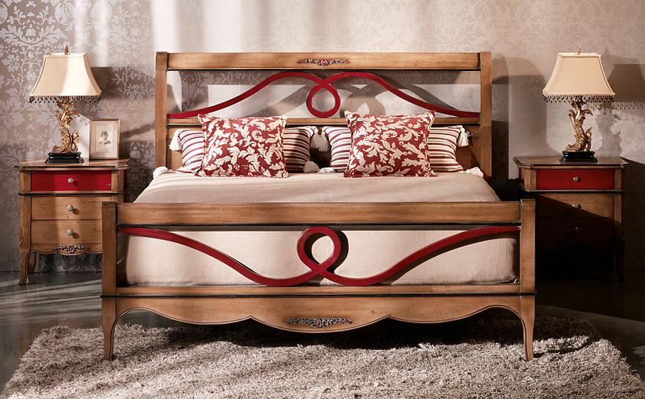 Cabeceros y camas de madera de lujo en portobellodeluxe tu tienda de decoraci n de lujo - Decoracion de dormitorios clasicos ...