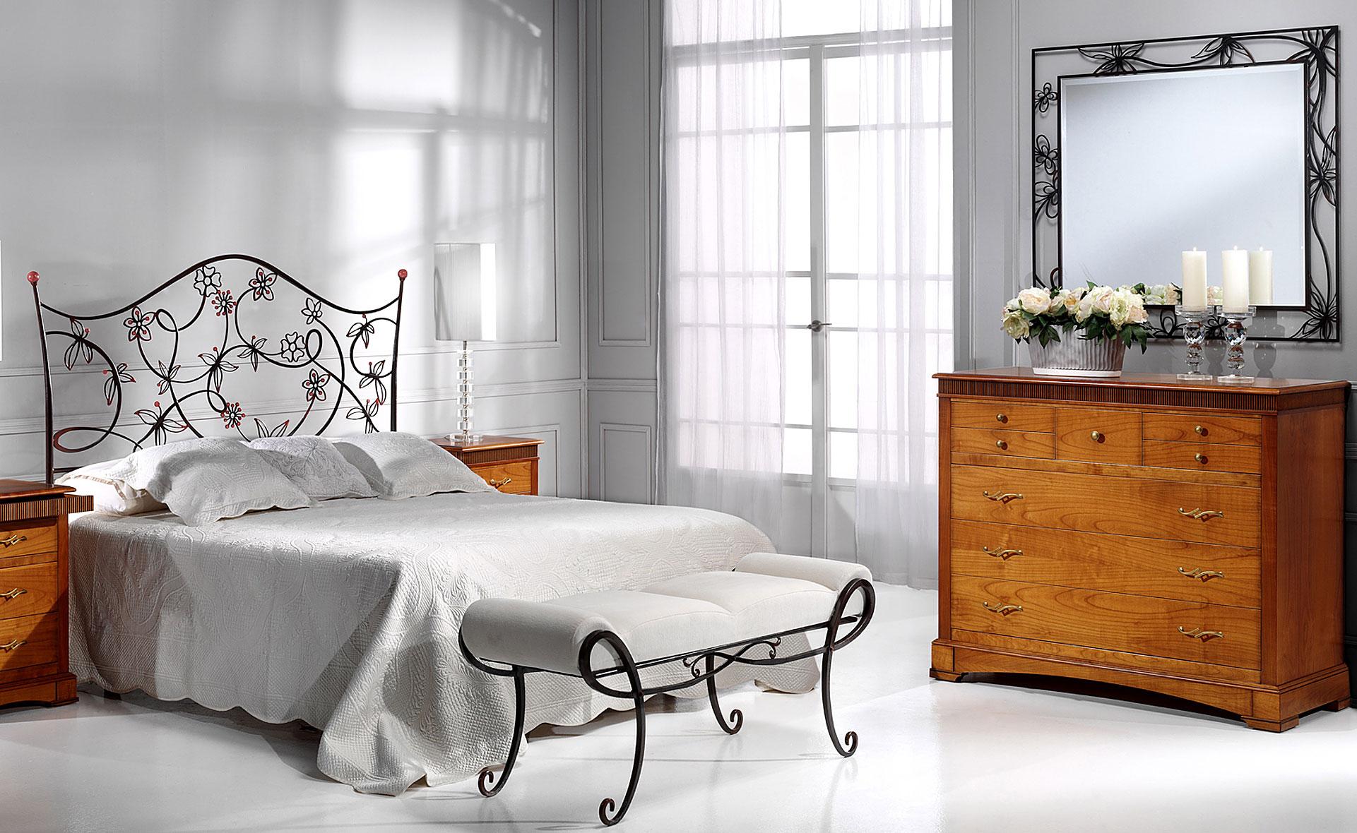 Dormitorio forja cintia en for Muebles forja