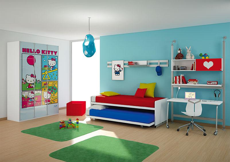 Dormitorio hello kitty urban no disponible en - Dormitorio hello kitty ...