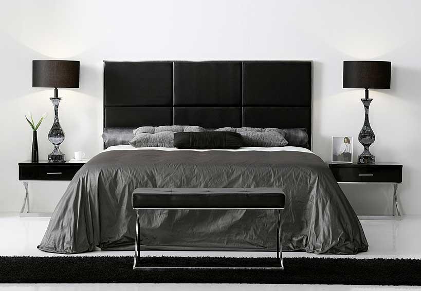 Dormitorio moderno sasha en la tienda de cabeceros de