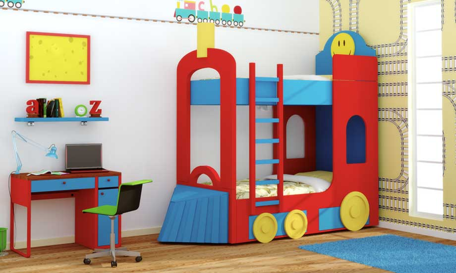 Dormitorio Litera Tren en Portobellostreetes