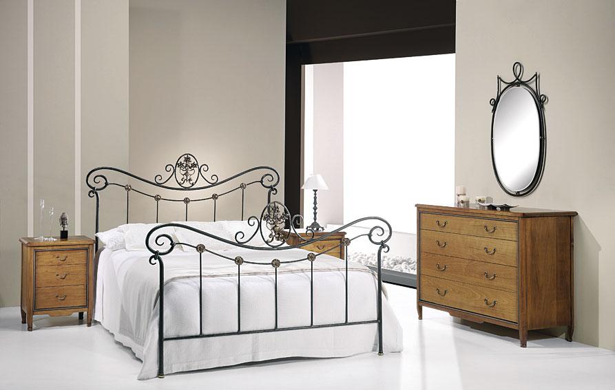 Dormitorio forja laura en for Muebles laura