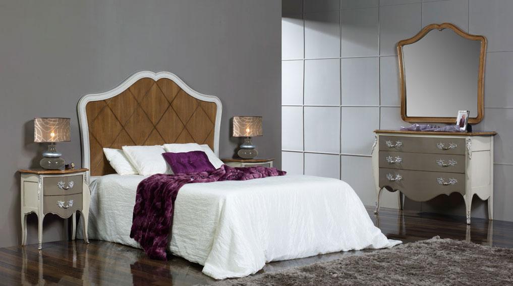Dormitorio vintage opera en for Dormitorio vintage blanco