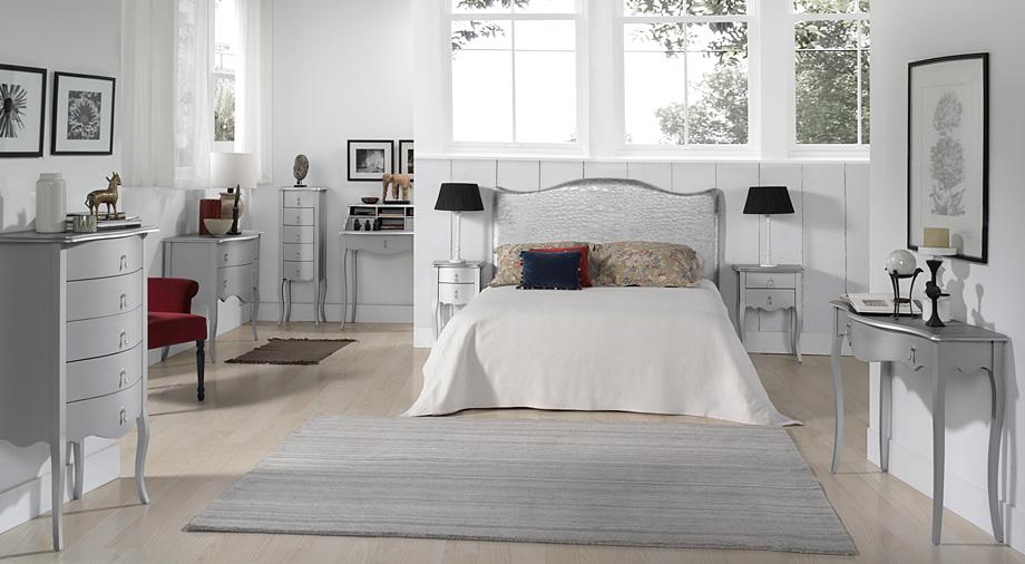 Dormitorio vintage plata astoria no disponible en - Muebles de dormitorio blancos ...