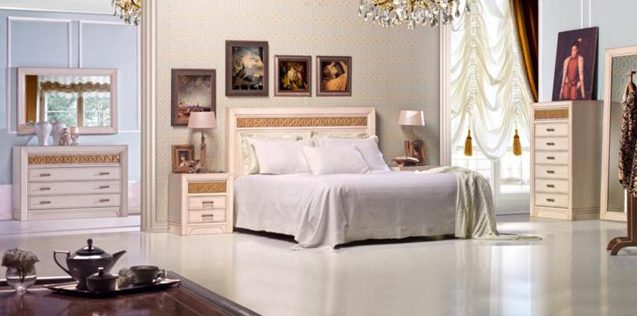 Dormitorio vintage romeo de lujo en for Dormitorio retro