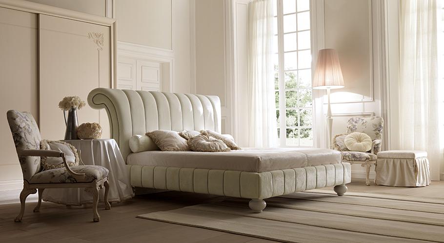 Dormitorio vintage apoleone en for Muebles romanticos blancos