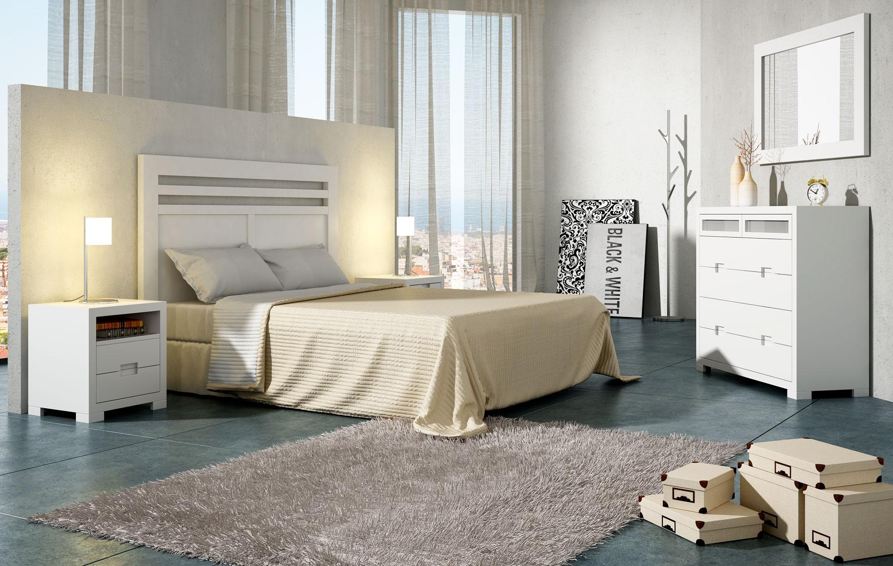 Dormitorio n rdico domaine en - Mesas para dormitorio ...