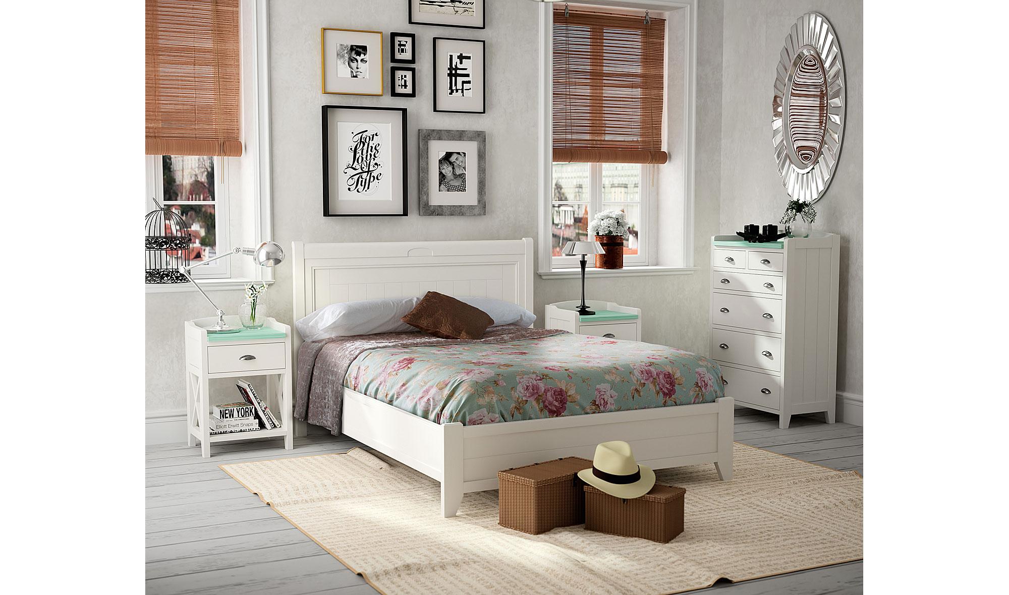 Dormitorio vintage provenzal verona en cosas de for Muebles verona