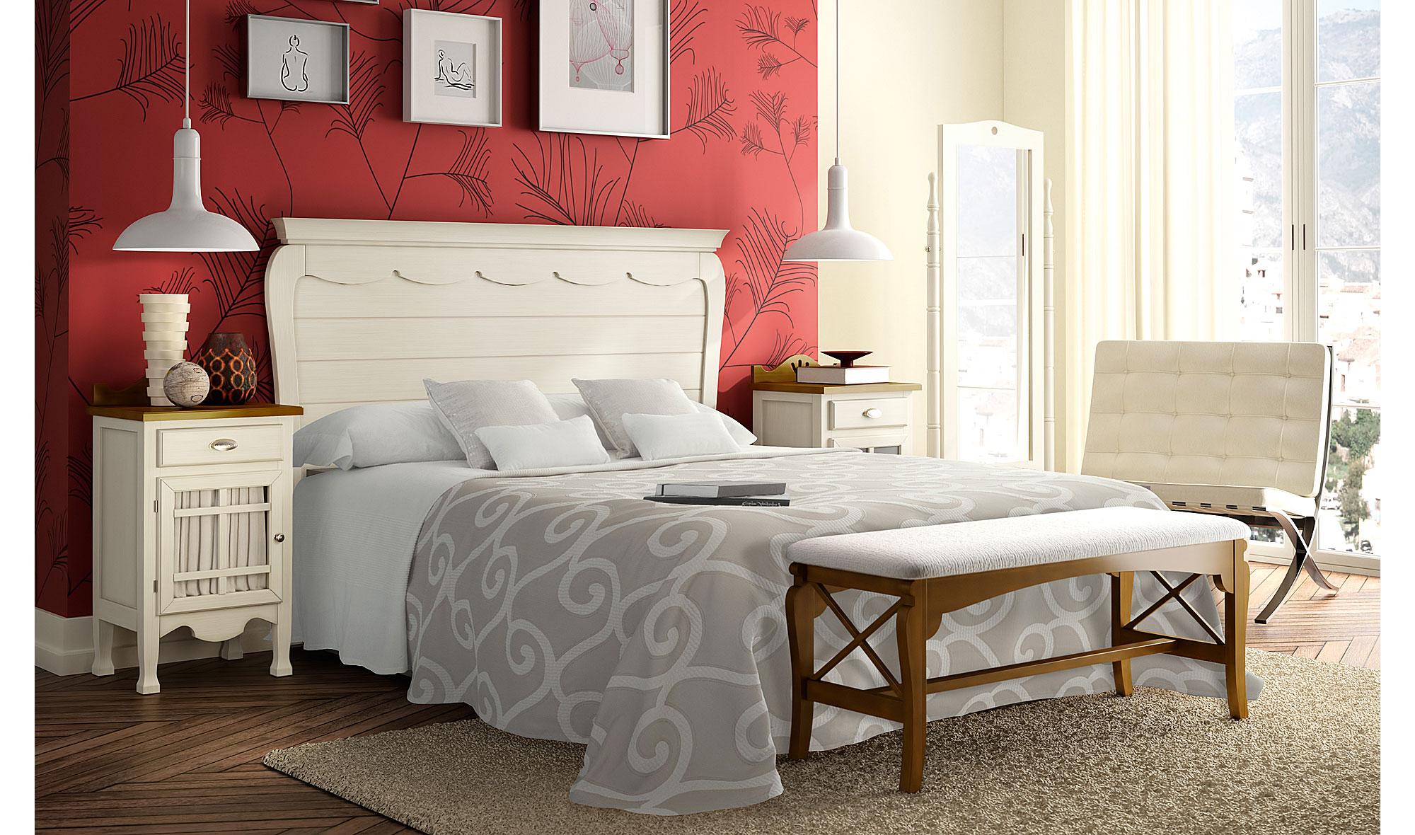 Dormitorio vintage provenzal miel decco en Muebles dormitorio