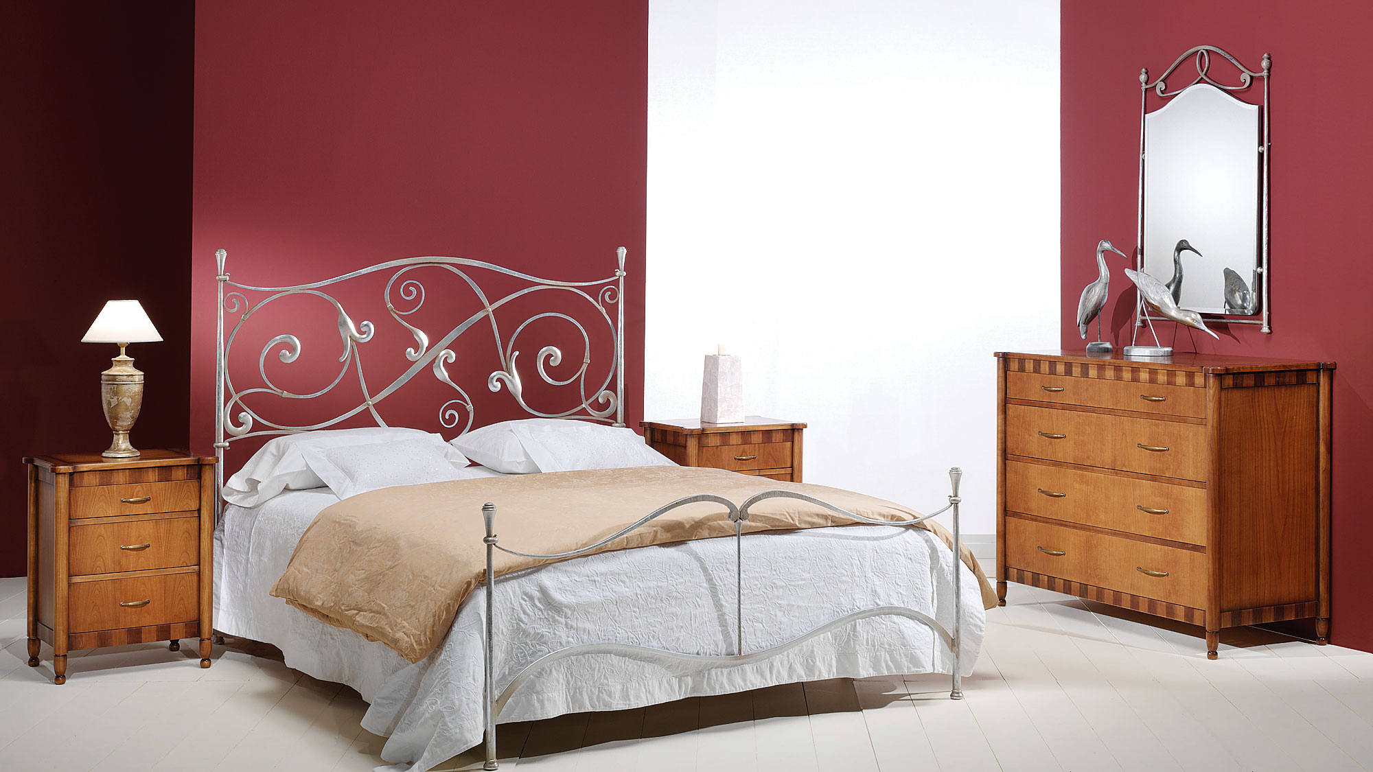 Dormitorio de forja citara en - Muebles en forja ...