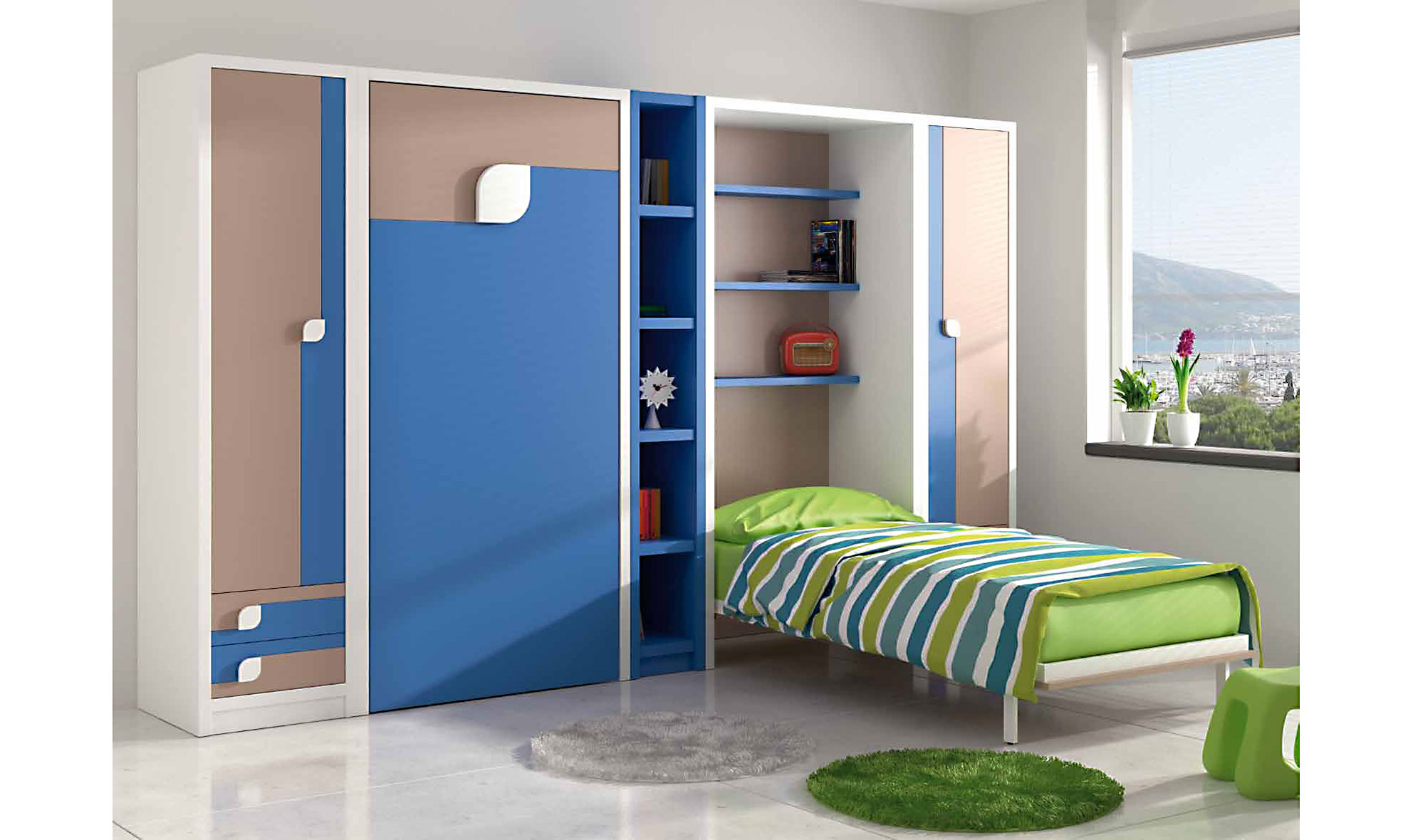 Dormitorio doble Janeiro en Portobellostreet.es