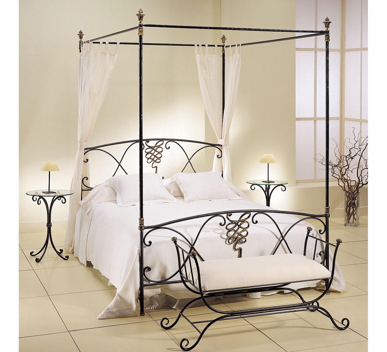 Dormitorio forja berruguete en - Muebles en forja ...