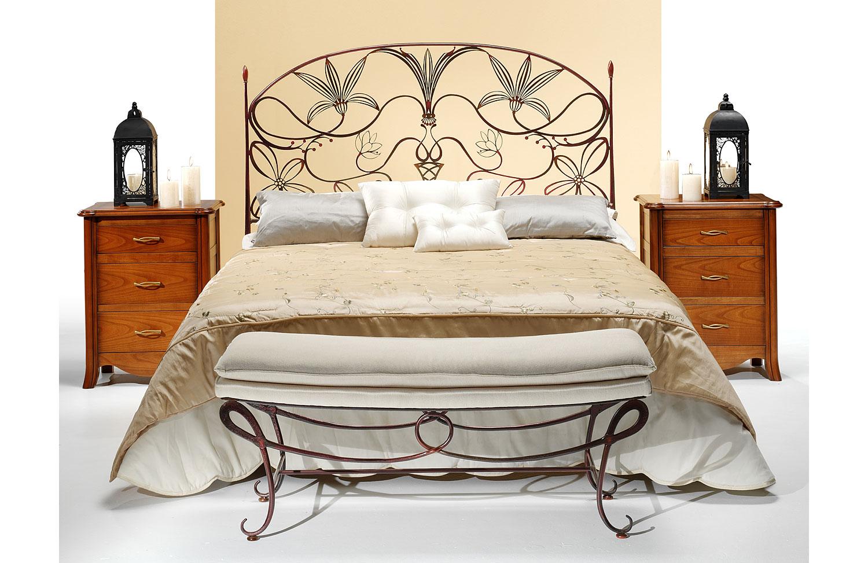 Dormitorio forja cleopatra en cosas de arquitectoscosas de - Muebles de forja ...