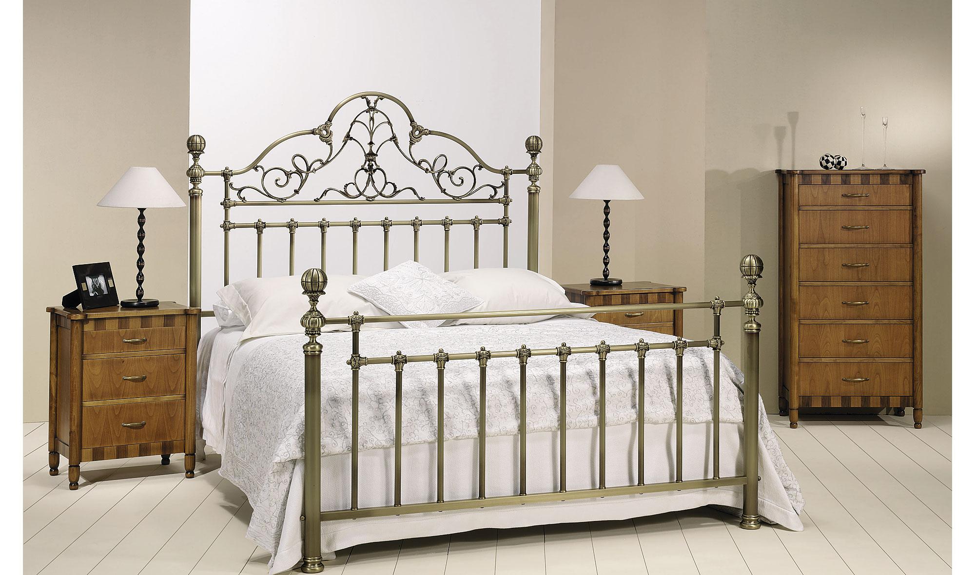 Dormitorio forja cristina en Muebles dormitorio
