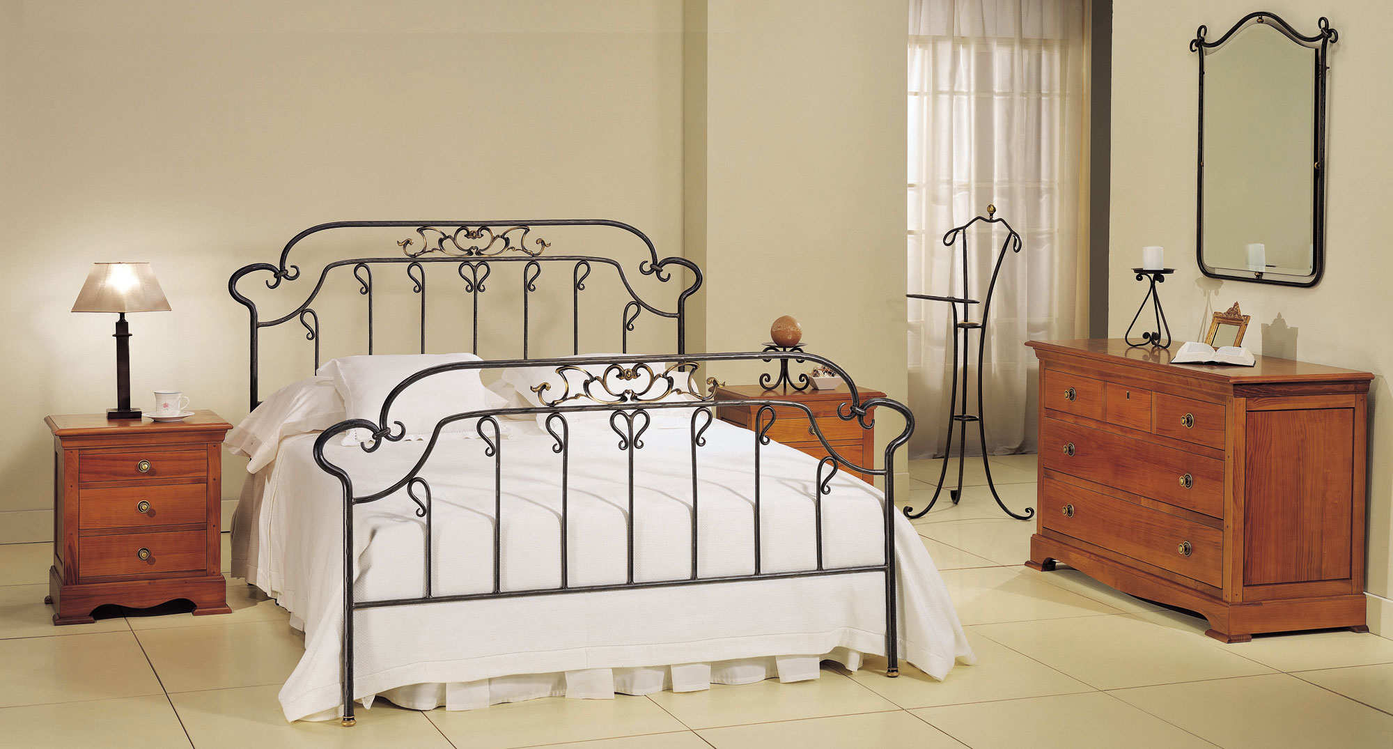 Dormitorio forja eboli en - Muebles en forja ...