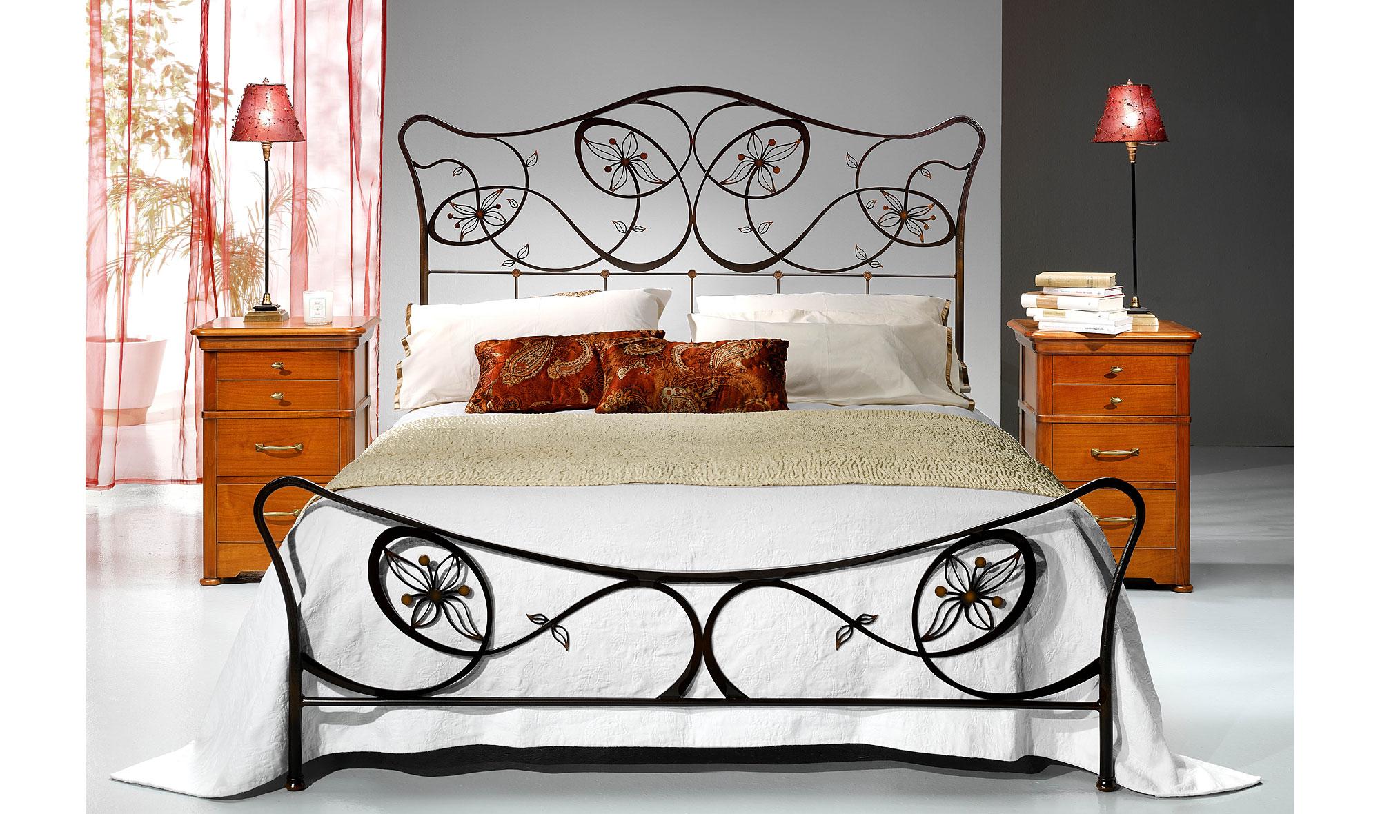 Dormitorio forja flika en la tienda de cabeceros de - Muebles en forja ...