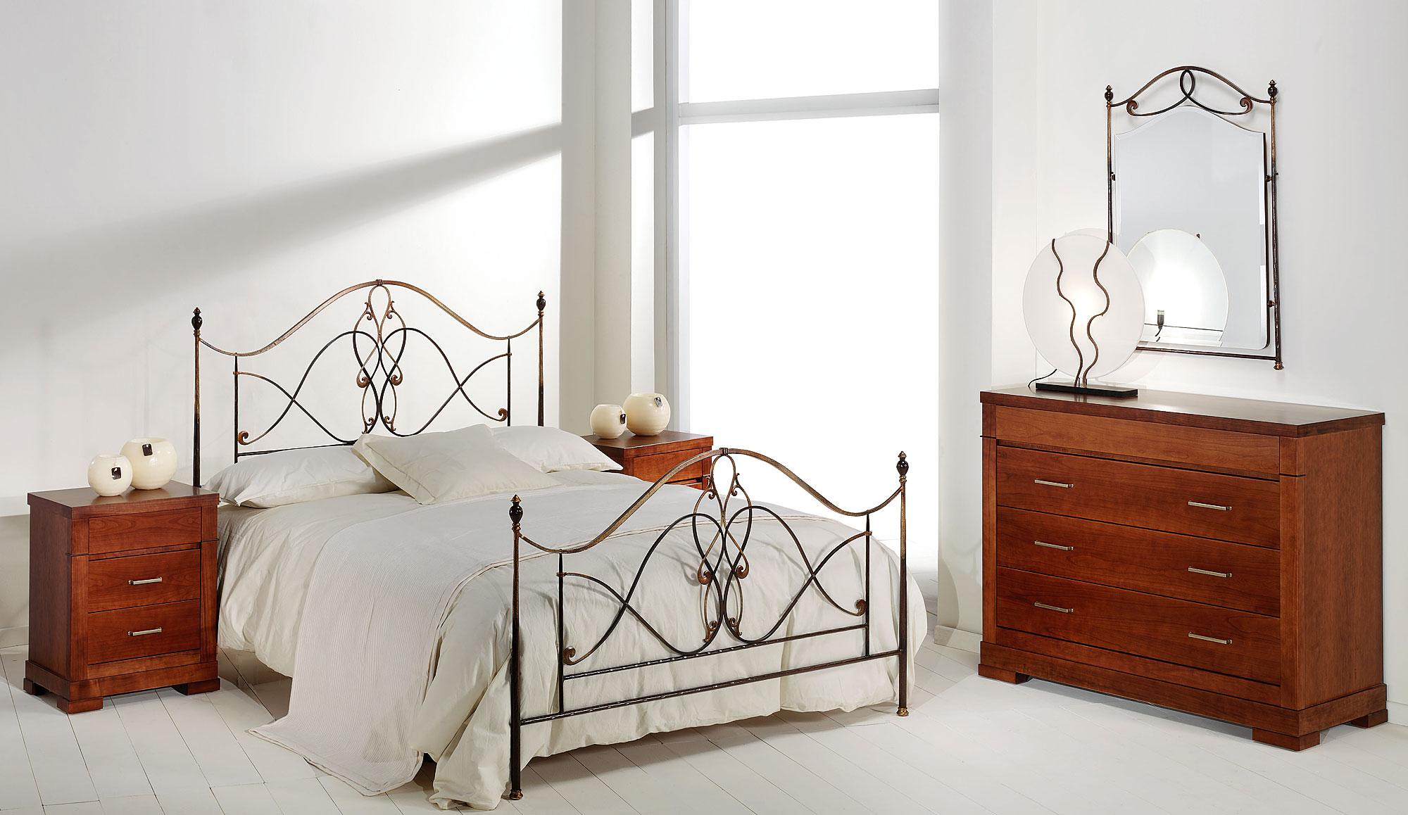 Dormitorio forja floria en - Muebles en forja ...