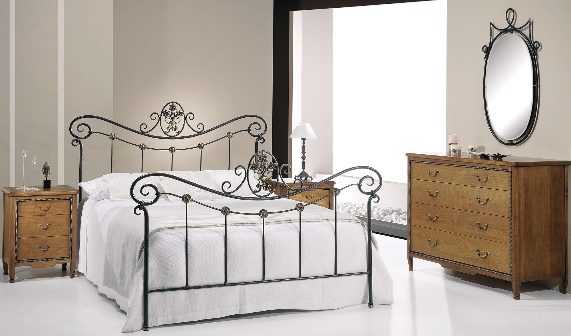 Dormitorio forja laura en - Muebles en forja ...