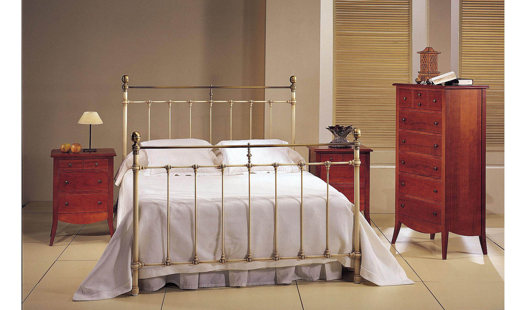 Dormitorio forja liberty en for Muebles forja