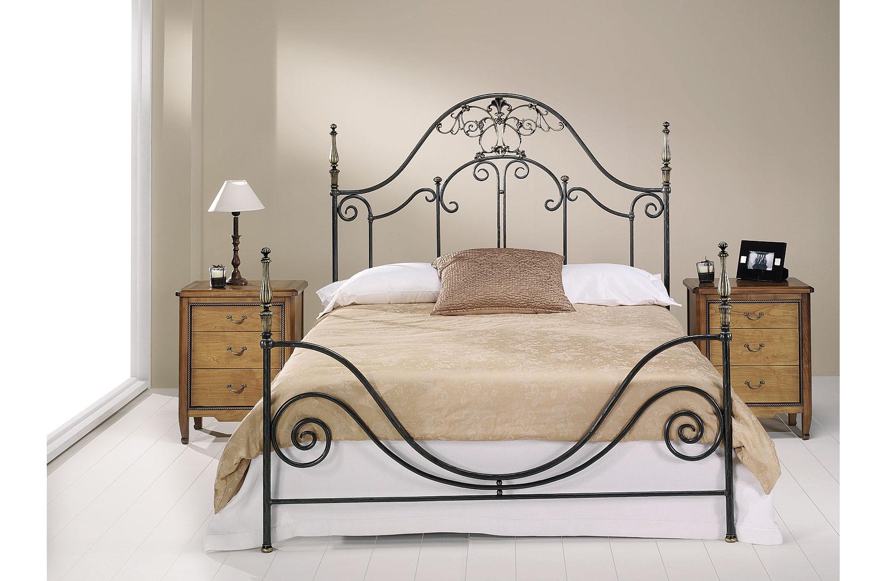 Dormitorio forja rebeca en Muebles dormitorio