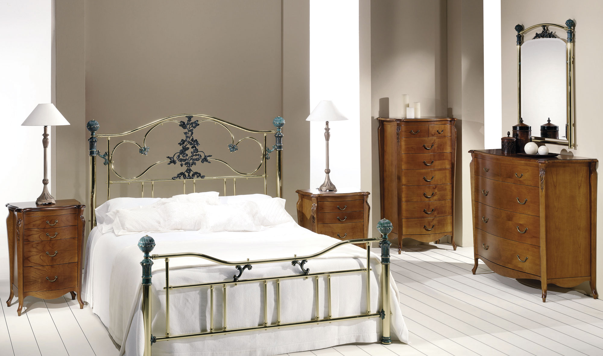 Dormitorio forja roxana en - Muebles en forja ...