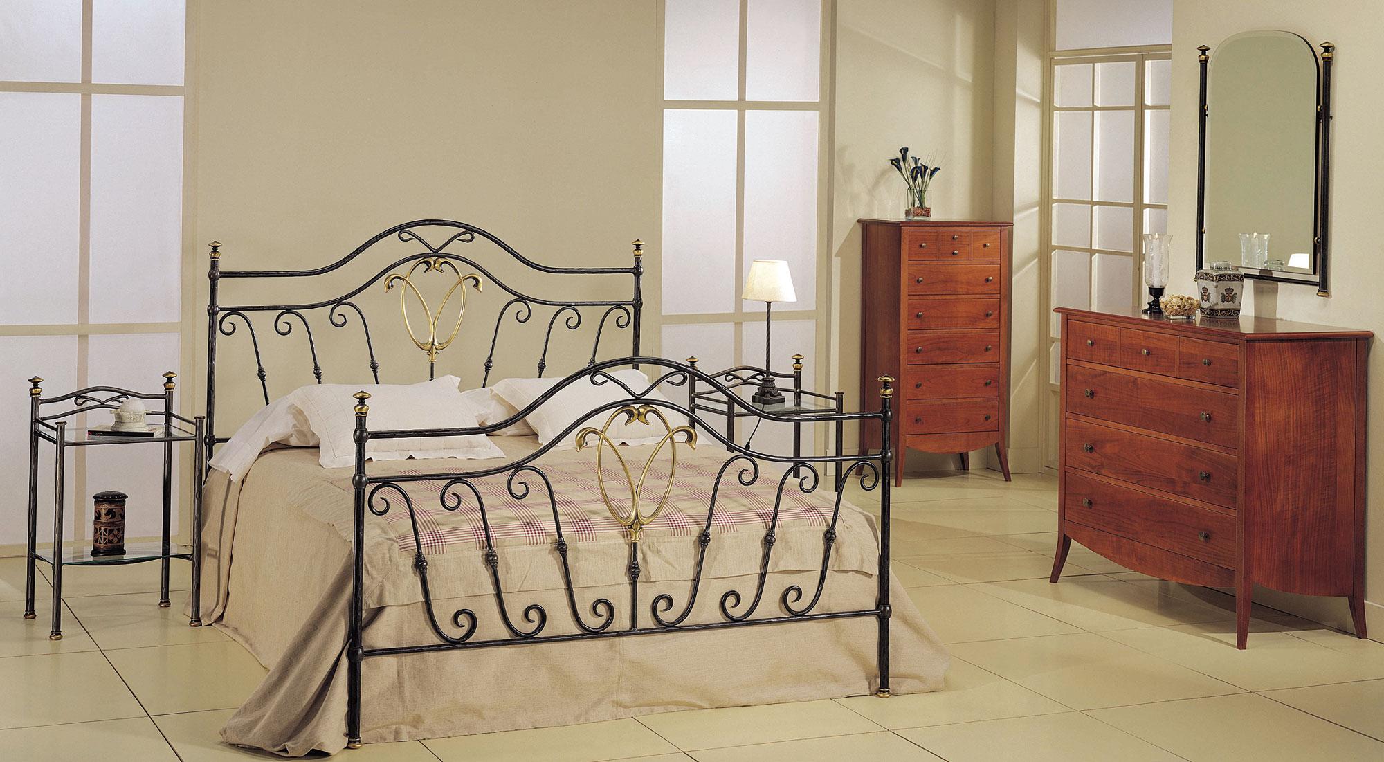 Dormitorio forja thais en for Muebles forja