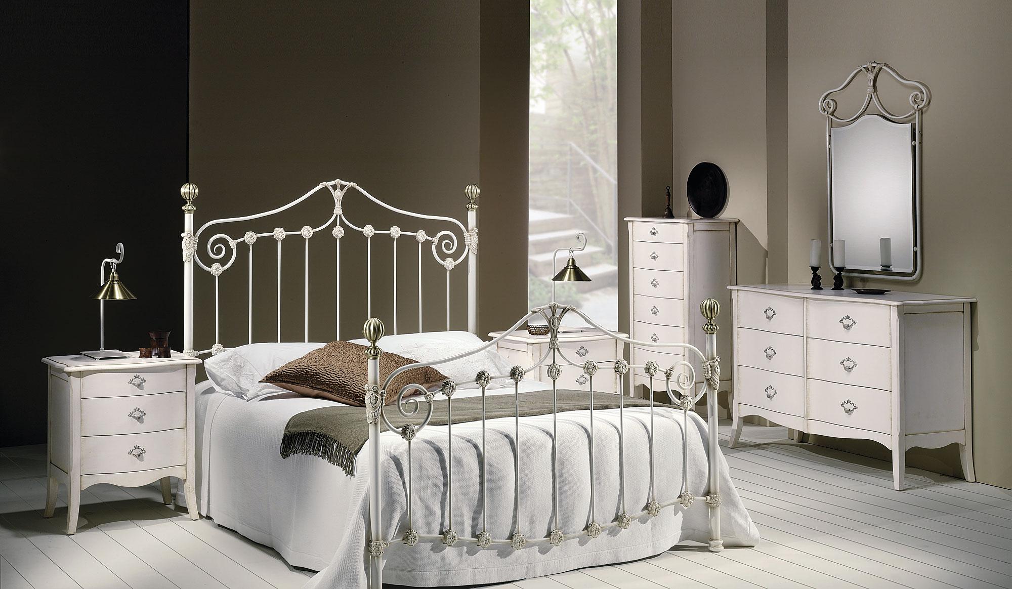 Dormitorio forja vals de lujo en tu - Muebles en forja ...