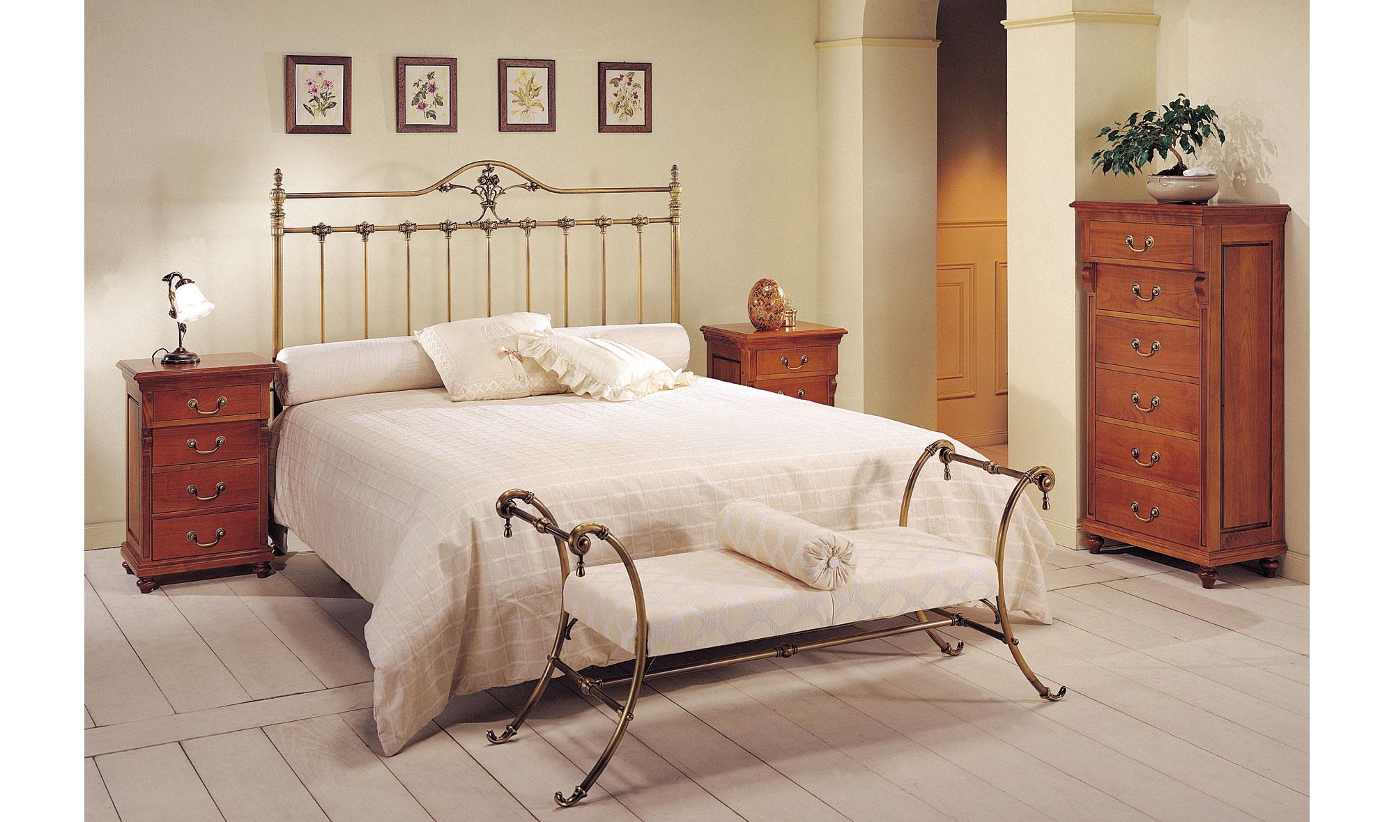 Dormitorio forja viridiana en for Muebles forja