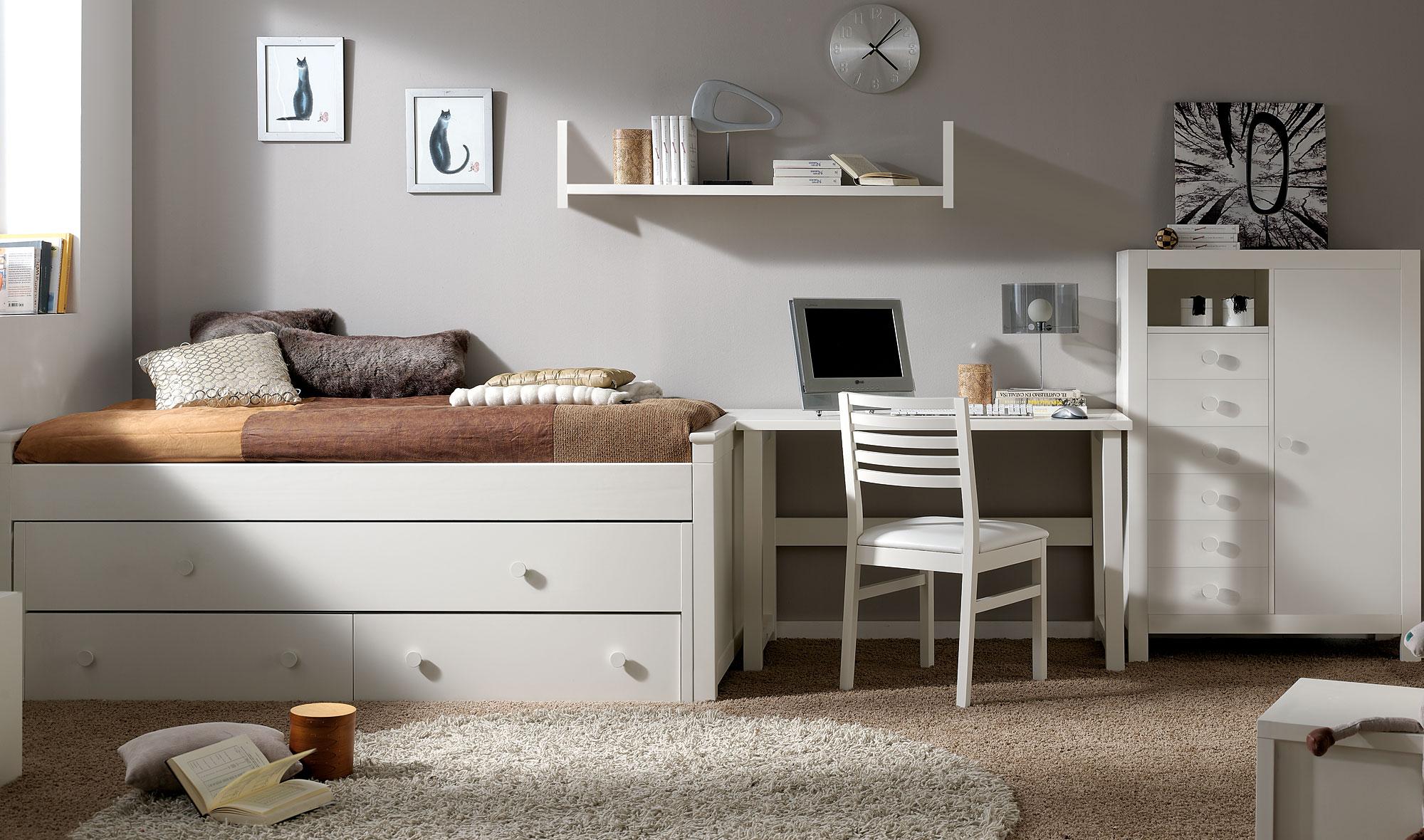 Dormitorio infantil kika iv en tu - Muebles dormitorio infantil ...