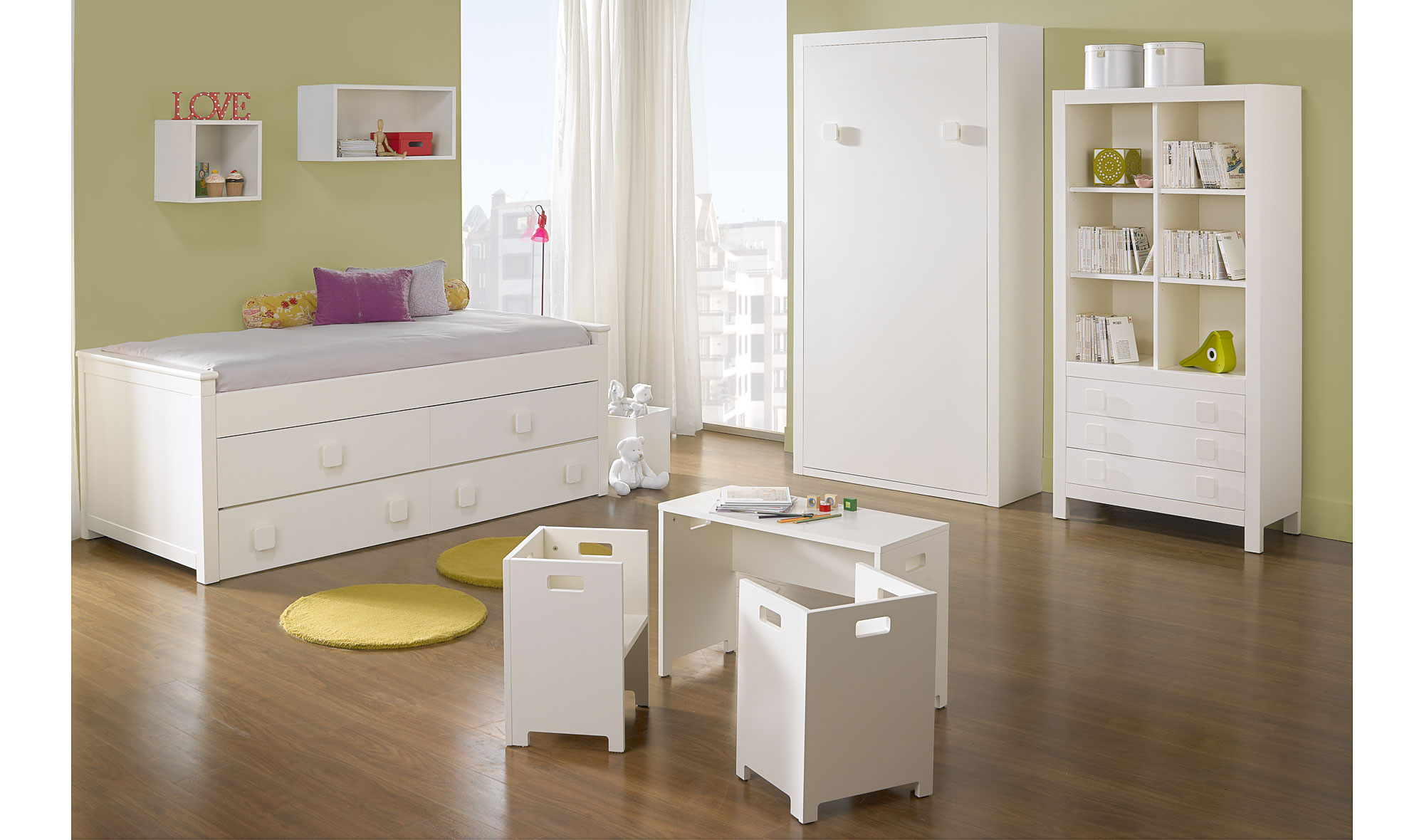 Dormitorio infantil kika vii en tu - Muebles dormitorio infantil ...