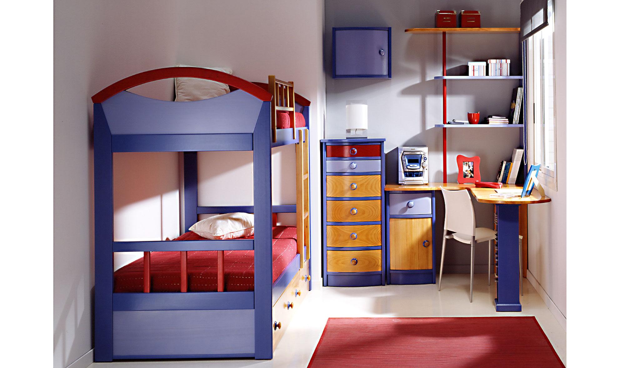 Dormitorio infantil mikey en - Muebles dormitorios infantiles ...