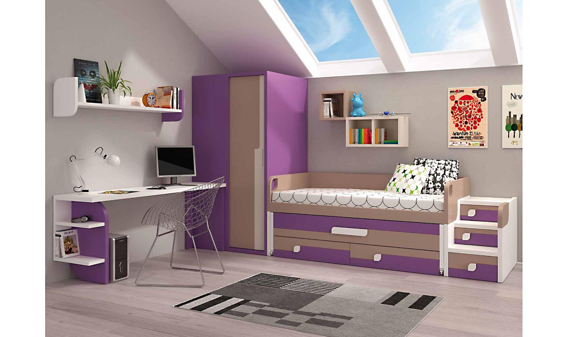 Dormitorio Juvenil Naomi En Portobellostreet Es ~ Alfombras Para Dormitorios Juveniles
