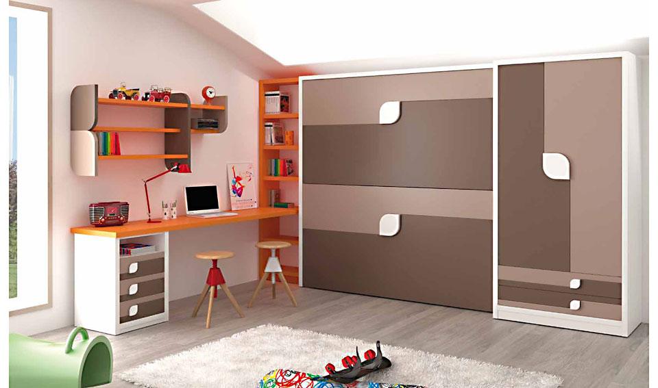 Dormitorio juvenil sahara en for Muebles dormitorio juvenil