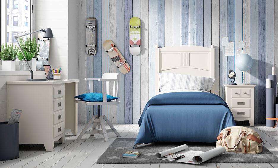 Dormitorio juvenil colonial bora bora ii en for Portobello muebles coloniales