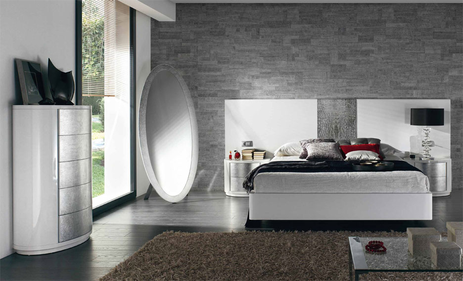 Dormitorio moderno galatea de lujo en for Muebles para dormitorios modernos