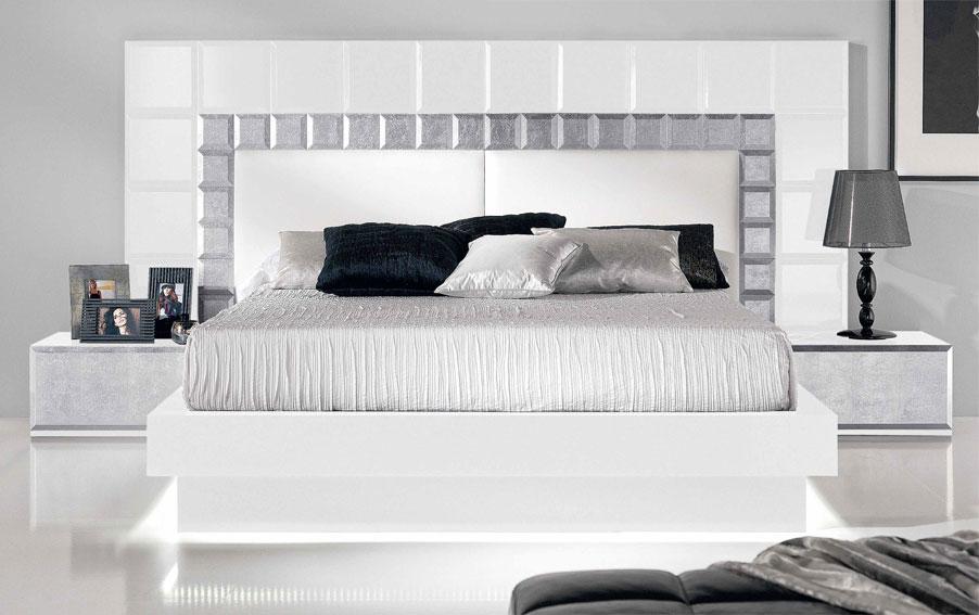 Dormitorio moderno natassia no disponible en - Cabeceros de cama de diseno ...