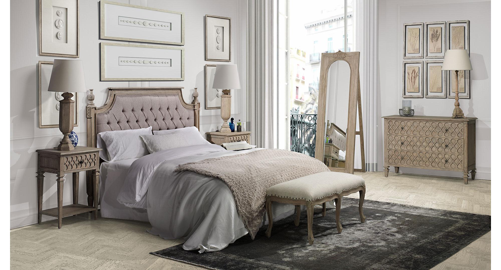 Dormitorio vintage artisan iii en - Dormitorios vintage blanco ...