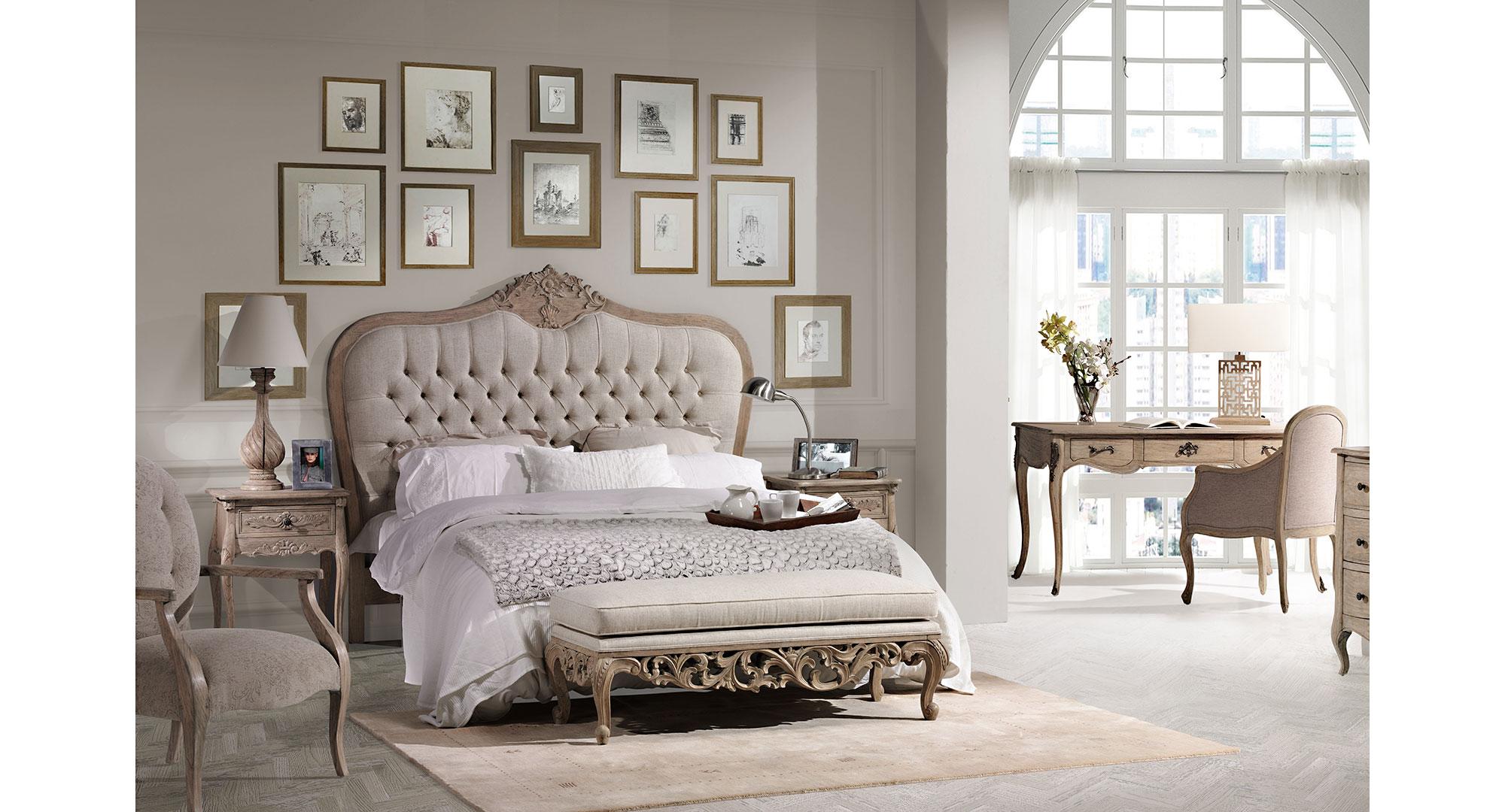 Dormitorio vintage artisan iv de lujo en portobellodeluxe for Decoracion de habitaciones vintage
