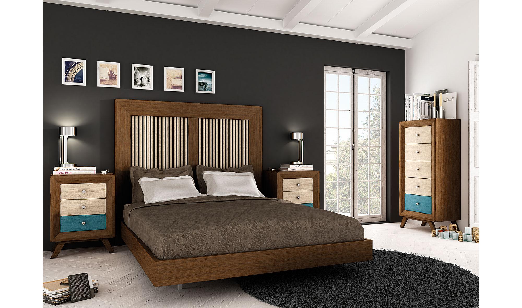 Dormitorio vintage zeus no disponible en for Muebles dormitorio vintage