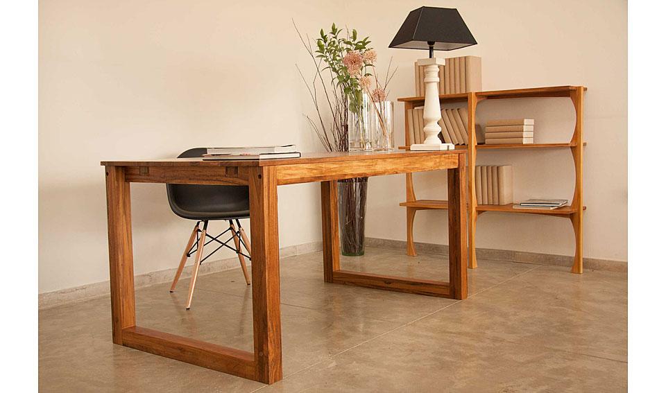 Mesa de escritorio vintage nilo no disponible en - Escritorios madera maciza ...
