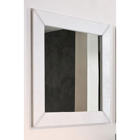 espejo moderno cuadrado harlem en On espejos cuadrados