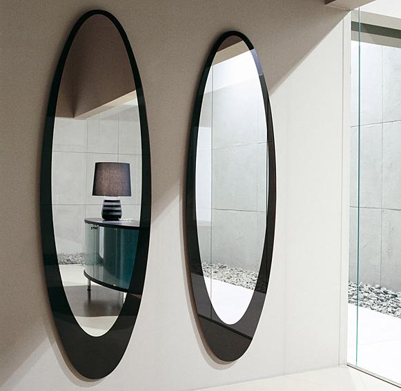 Espejo moderno olmi tonin casa en - Espejo pie ikea ...